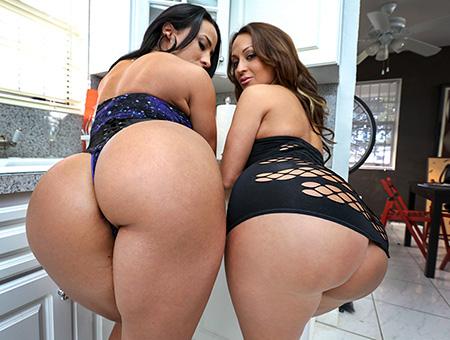 bangbros Stunning Big Booty Latina Lesbian Threeway