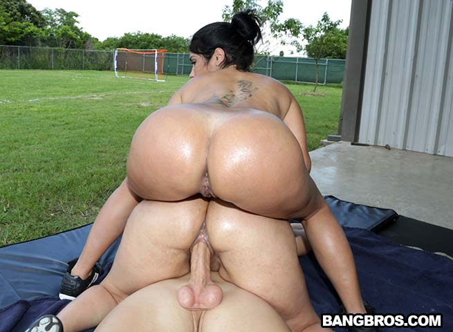 Meet the woman with the world's biggest butt