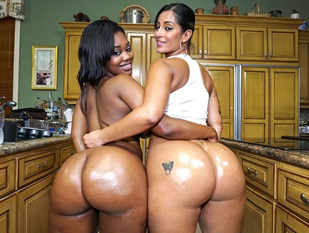 bangbros Double the hot huge asses