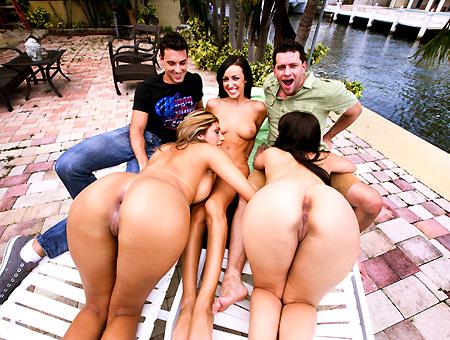 bangbros Stackin' Ass W/ Janeva, Liz, Breanne Benson