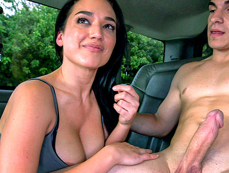 bangbros Amateur girl sucks and fucks for cash
