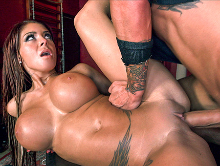 bangbros Busty Dominatrix Receives Creampie In Her Dungeon