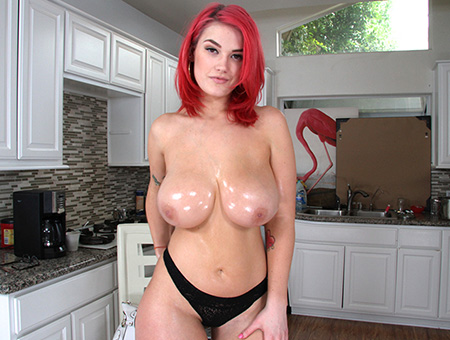 bangbros Amateur Red-Head With Big Boobies and A Juicy Ass!