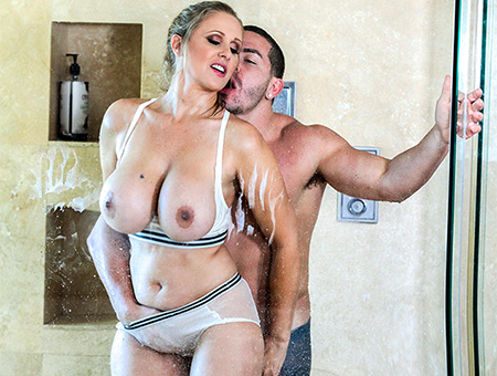 bangbros Fucking The Stepson In The Shower