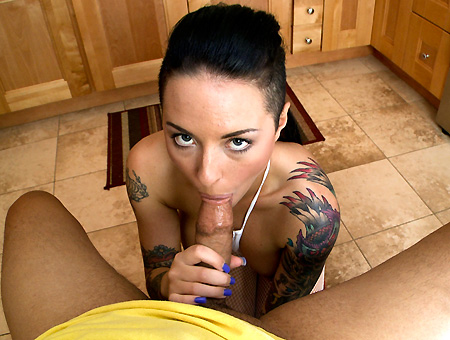 bangbros Rocker Girl Gives A Great BJ