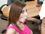 blowjobfridays Sara Jay Sucks A Big Black Cock Until It Cums!