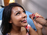 brownbunnies Zoey Reyes jumps on dick until she cums
