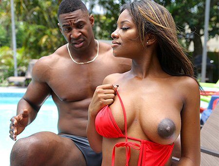 bangbros Ebony Lola Gets Stepbro Dick