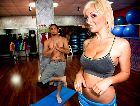 bangbros Lexi Swallow And The Yoga Kid