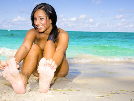 bangbros Beachside Feet Fun
