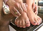 magicalfeet Lexi Belle has Happy feet