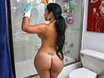 mydirtymaid.com Big ass Cuban maid gets fucked