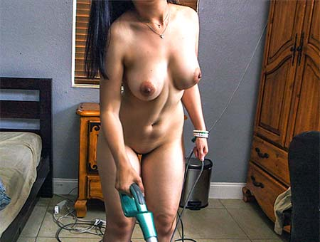 bangbros Maid gets sprayed
