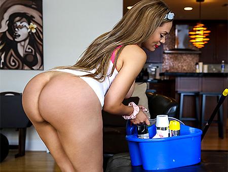 bangbros Big Booty Latina Maid Gets PIPED