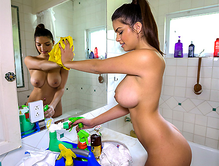 bangbros The Best Nude Cleaning Service