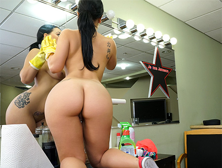 bangbros Thick Latina Maid Enjoys First Day