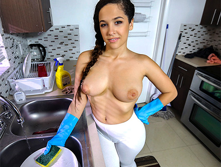 bangbros Getting Pussy From my Maid