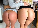 pawg DOUBLE BIG WHITE BOOTY OVERDOSE