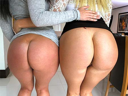 bangbros DOUBLE BIG WHITE BOOTY OVERDOSE