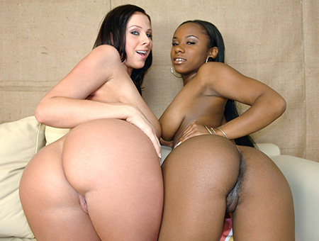 bangbros Lesbian Action And Hardcore Pussy Pounding Sex!