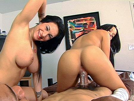 bangbros Abella Anderson in a hot threesome
